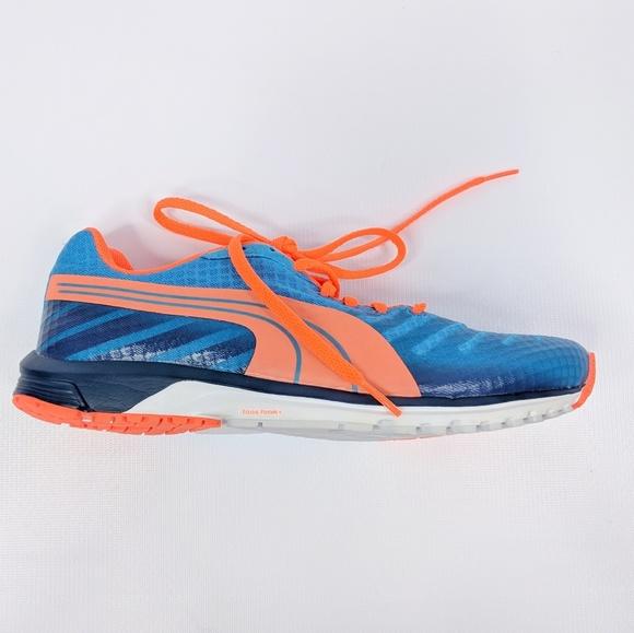 ad8d82699c7 PUMA • faas 300 v3 blue orange running shoes